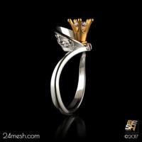RG0002 - Engagement ring PRINCESS