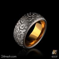 3d model ring -
