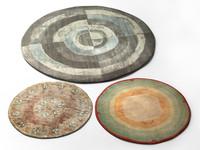 vintage rugs 3d model