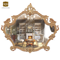 realistic frame mirror 3d max