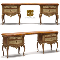realistic dressing table 3d obj