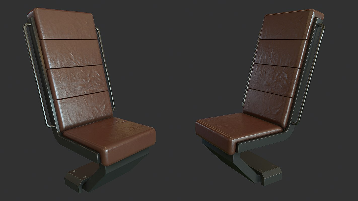 chair ready marmoset 3d model