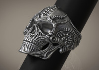Ring Skull Biomechanics HR Giger