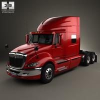3d international prostar tractor model