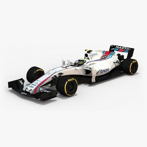 3d williams martini racing fw40