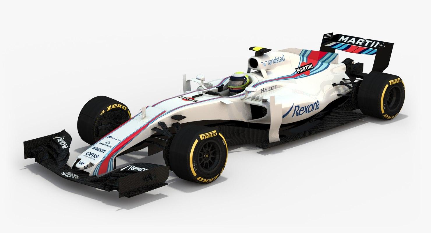 3d williams martini racing fw40