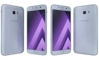 3d samsung galaxy a7 2017 model