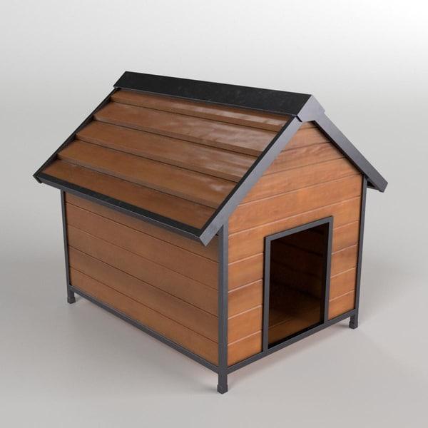doghouse archviz 3d model
