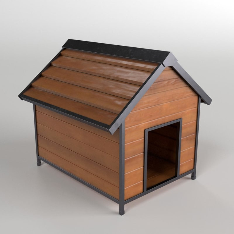 doghouse archviz 3d model