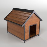 doghouse archviz 3d 3ds