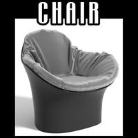 3d model chair interiors