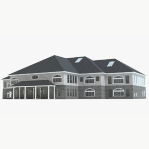 3d professional office building model