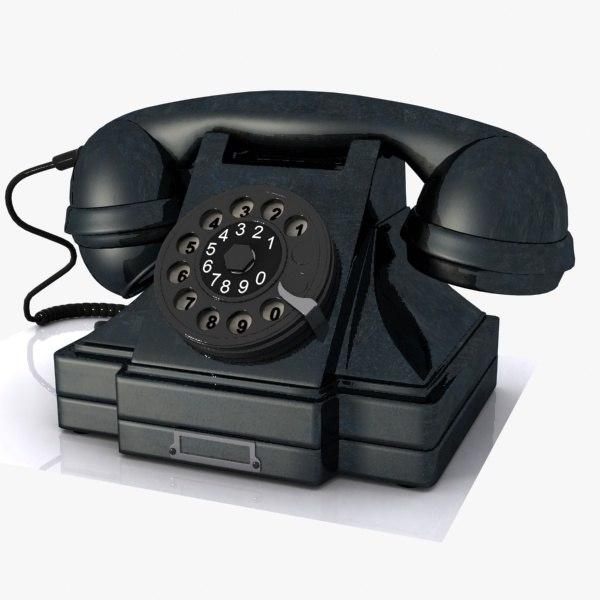 vintage phone 3ds