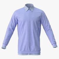 3d shirt 02 model