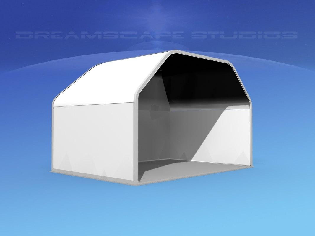 airport cargo a2n air 3d model