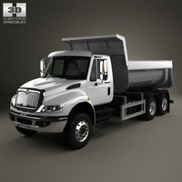 3d international durastar 3-axle