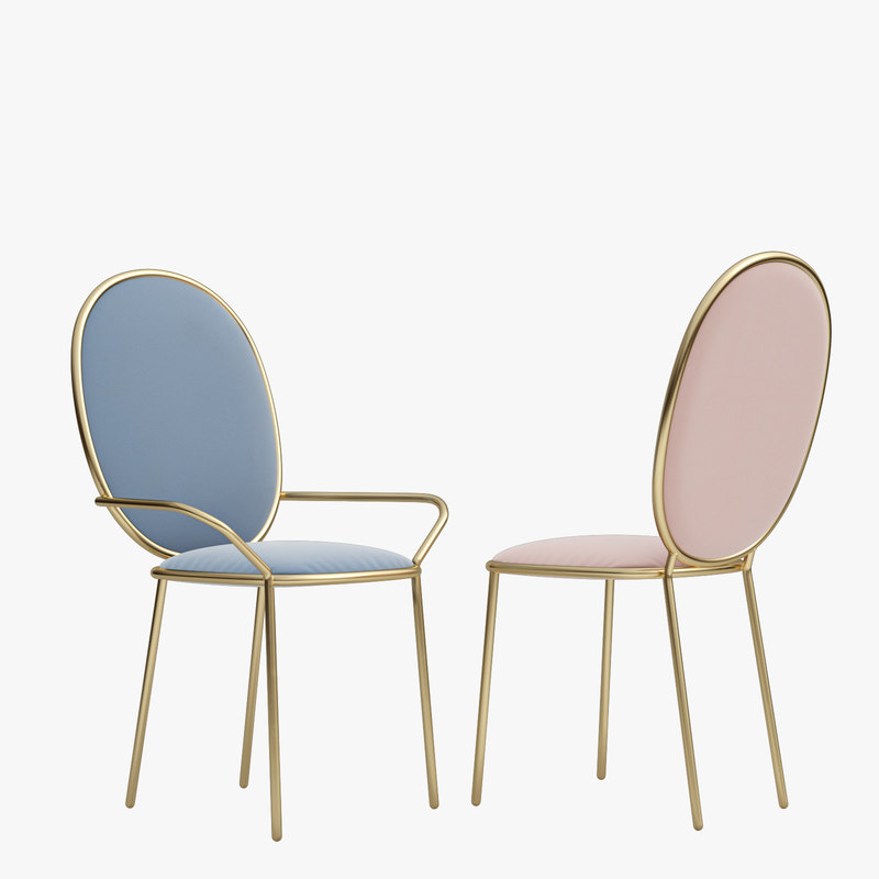 stay dining chair 3ds