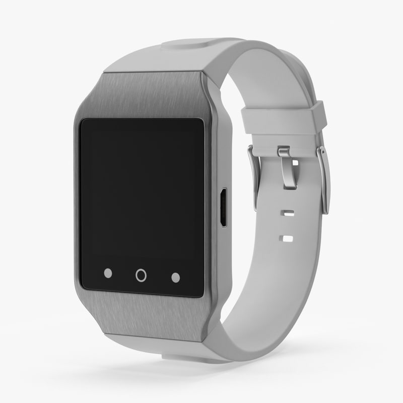 3d model smart watch