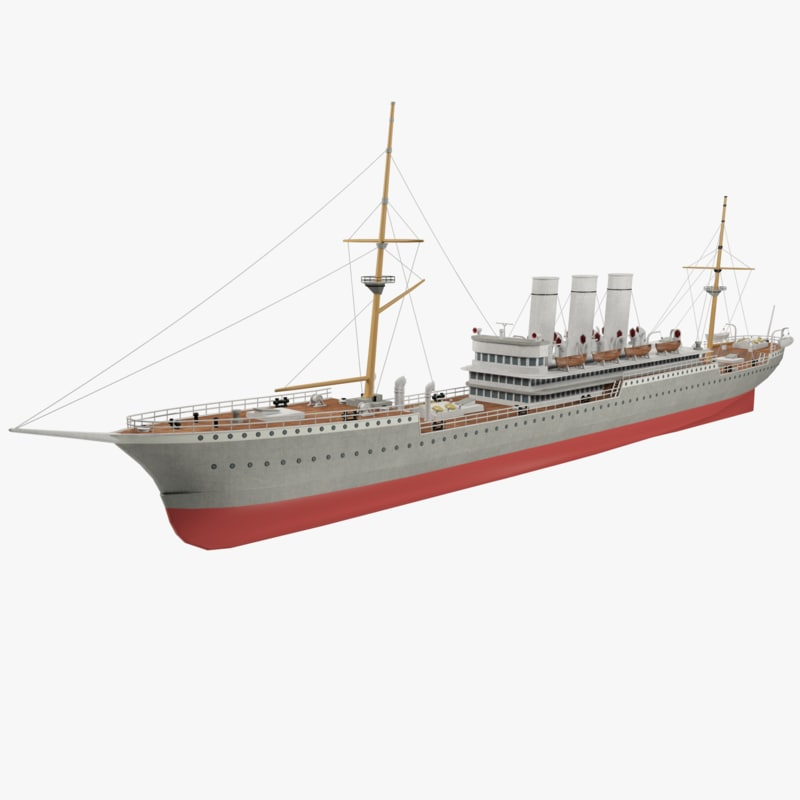 3d steamship rion