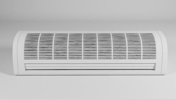 air conditioner c4d