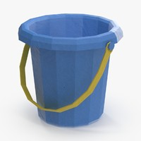 sand toy bucket 3d max