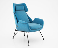 Augusto Bozzi Lounge Chair