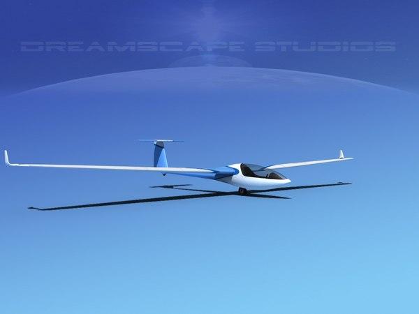 3d dg-300 glider model