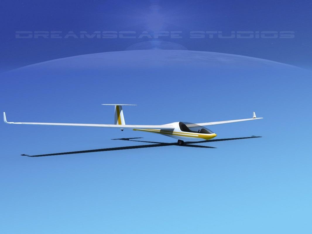 cockpit dg-300 glider dwg