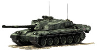 3d challenger 1 battle tank
