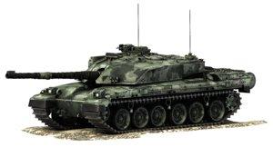 3d challenger 1 battle tank