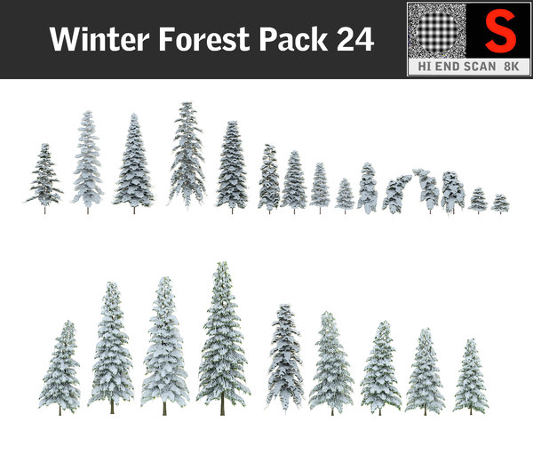 frozen forest hd pack max