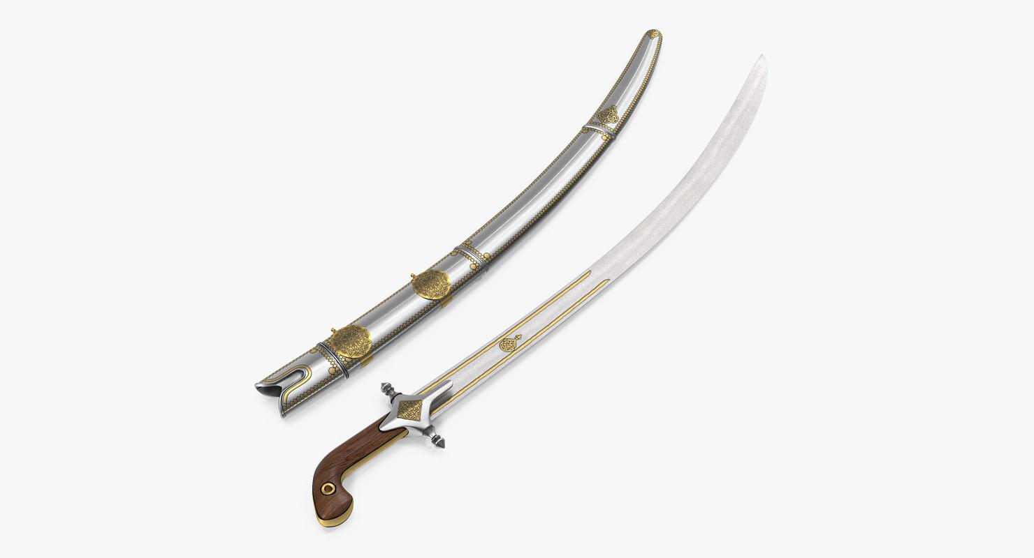 max arab saif sword sheath