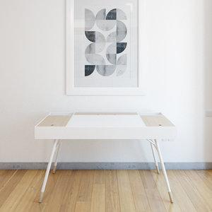 table morse study 3d model