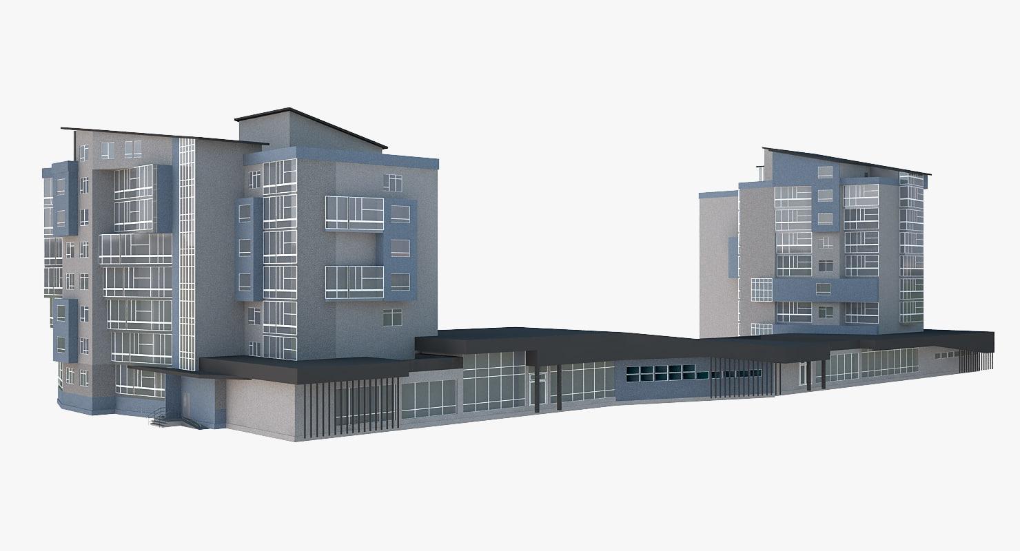 3d buildings store 2