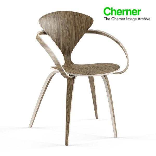 3d cherner chair