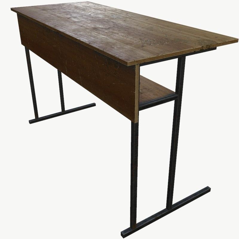 3d obj desk table
