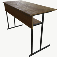 3d obj desk table