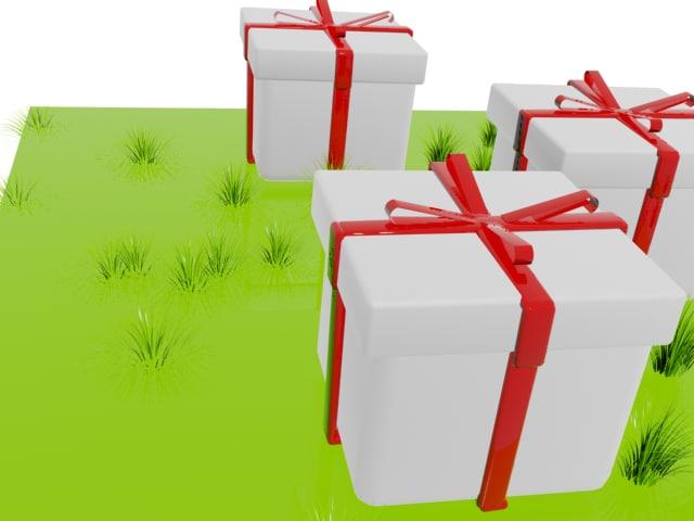 gift box 3d model
