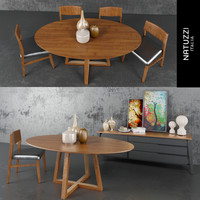 dining room set 3d max
