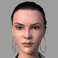 britney female 3d fbx