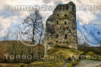 Waldenburg castle ruin