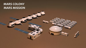 mars city colony nasa max
