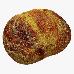bread 2 3d max