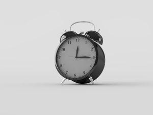ikea alarm clock 3d c4d