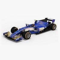 3d sauber c36-ferrari formula 1