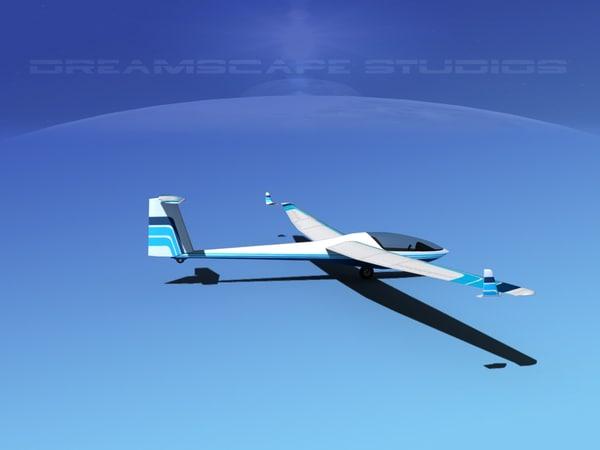 cockpit dg-300 glider max