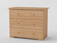 ikea hurdal drawers 3d model