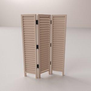 room divider 3d 3ds