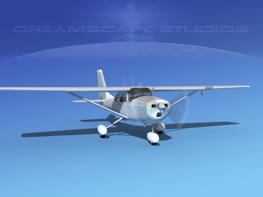 3d model cessna 172 skyhawk