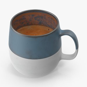 3d model coffee mug 01